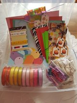Craft Box With Lots of Stuff in Ramstein, Germany