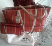 Authentic Coach Tote & Wrislett Wallet in Fort Campbell, Kentucky