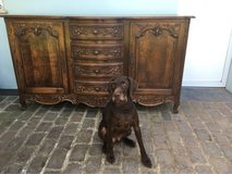 beautiful antique solid wood buffet from France in Ramstein, Germany