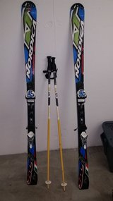 Nordica Dobermann Skis w/ poles in Vicenza, Italy