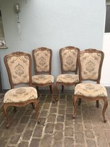 4 antique chairs chippendale style from France in Ramstein, Germany