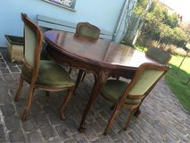wonderful antique dinning table 4 chairs from France in Ramstein, Germany
