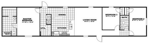 16x76 1191sqft Manufactured Home in Fort Hood, Texas