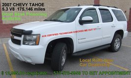 2007 CHEVY TAHOE 4X4 in Fort Leonard Wood, Missouri