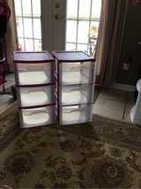 2 Sterilite 3 Drawer in Fort Campbell, Kentucky