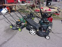 Lawn Mower in Fort Riley, Kansas