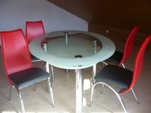 dinning table and chairs in Ramstein, Germany