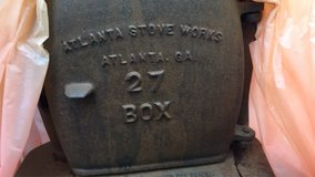 cast iron wood stove in Vacaville, California
