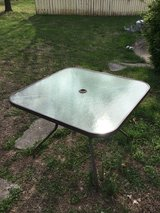 Glass Patio Table in Fort Campbell, Kentucky