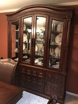 2 piece China hutch in Katy, Texas
