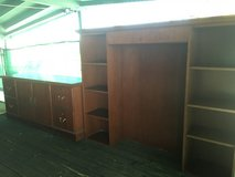 Office hutch or entertainment center locks on all drawers in 29 Palms, California