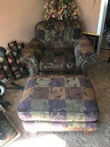 Flexsteel Over size Chair with Ottoman in Naperville, Illinois
