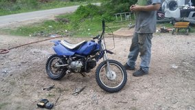 Yamaha frame and honda motor 100cc dirt bike in Cleveland, Texas