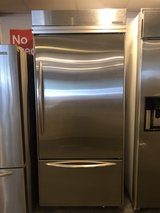 38 inch stainless refrigerator in Kingwood, Texas