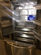 Kitchen Aid stainless steel refrigerator in Kingwood, Texas