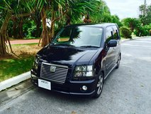 2006 Black Suzuki Solio Wagon/ Car in Okinawa, Japan