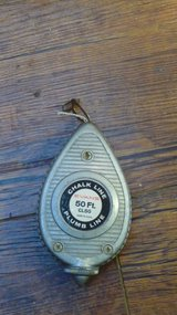 Chalk Line / Plumb Line..... Evans Mfr, Made in USA in Okinawa, Japan