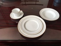 """""""Noritake"""" China Sets """"White Scapes"""" Lockleigh Pattern in Stuttgart, GE"""