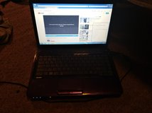 Purple Toshiba Windows 7 laptop in Fort Leonard Wood, Missouri