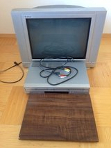 TV+TV turntable + DVD/VCR player in Ramstein, Germany