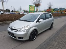 2006 Toyota COROLLA VERSO 7 seats * 2.0 turbo diesel *NEW INSPECTION.cruise control *A/c in Ramstein, Germany