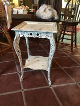 """Small accent table 17""""square 27""""tall in Cleveland, Texas"""