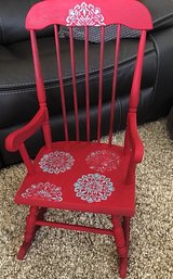 Adorable refinished toddler rocking chair in Chicago, Illinois