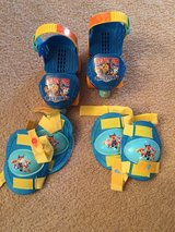 Paw Patrol Roller Skates with pads in Glendale Heights, Illinois