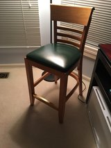 Leather bar stools with back in St. Charles, Illinois