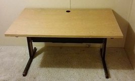 Wood desk in Fort Riley, Kansas