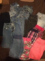 Girls pants and shorts size 6 in Clarksville, Tennessee