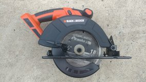 Black and Decker 24V Circular Saw (Tool Only) in Warner Robins, Georgia