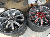 24 inch rims in Fort Leonard Wood, Missouri