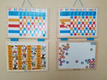 2 Responsibility Charts - Like new!! in Vacaville, California