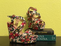 Floral Platform Shoes in Fort Leonard Wood, Missouri