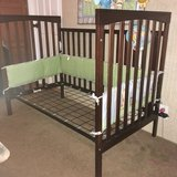 baby crib and changing table etc set in Hinesville, Georgia