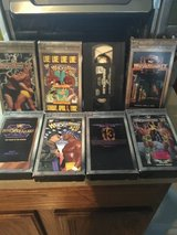 Lot of WWF wrestlemania vhs in Naperville, Illinois
