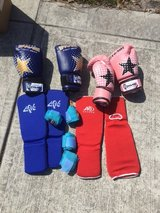 Shinguards and gloves (kids) in Camp Lejeune, North Carolina