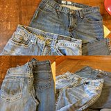 Two pairs Size 30x32 jeans in Naperville, Illinois