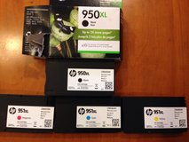 HP ink for printer- 4 in Glendale Heights, Illinois