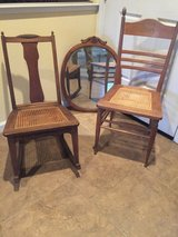 Antique Chairs and Mirror in Roseville, California