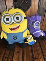 talking minions in Cleveland, Texas