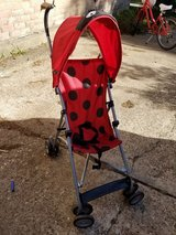 Ladybug umbrella stroller in Houston, Texas