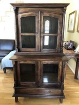 Hutch and Table set with six chairs in Fort Campbell, Kentucky