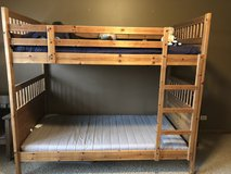 Twin bunk beds in Lockport, Illinois