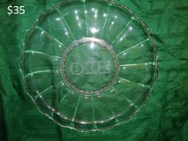 Beta Sigma Phi Glass Serving Tray in Yucca Valley, California