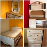 Bedroom (full size) set with desk system in Ramstein, Germany