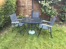 Outdoor Table and chairs in Lakenheath, UK