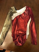 GK Red/Gold Leotard in Chicago, Illinois