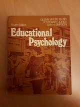 Book . Educational Psychology 4th edition in Ramstein, Germany